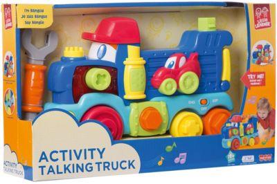 Передвижной  Говорящий Грузовик  HAP-P-KID, артикул:7958338 - Интерактивные игрушки