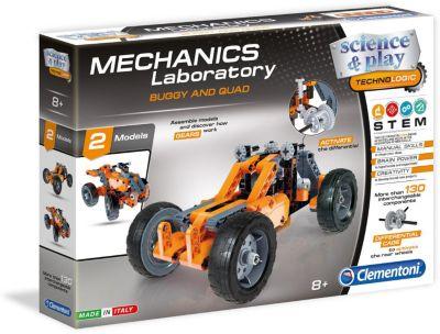 Конструктор Clementoni  Багги и Квадр , артикул:7959028 - Робототехника и электроника