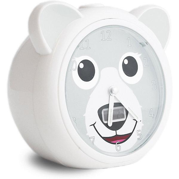 Купить Часы-будильник для тренировки сна Zazu Медвежонок Бобби , Китай, серый, Унисекс