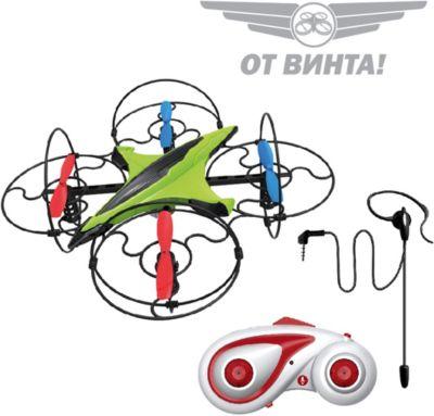 Радиоуправляемый квадрокоптер От винта! Fly-0244, голосовое управление, артикул:7959897 - Радиоуправляемые игрушки