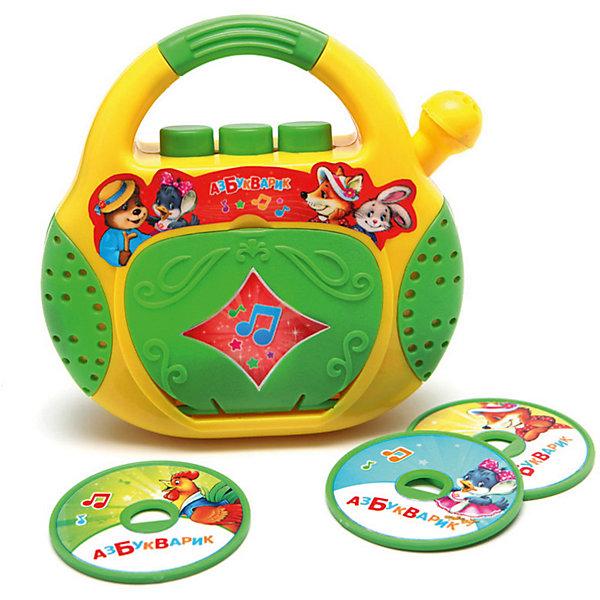 Азбукварик CD-Плеер Азбукварик Песенки-Потешки музыкальные игрушки азбукварик cd плеер песенки чудесенки