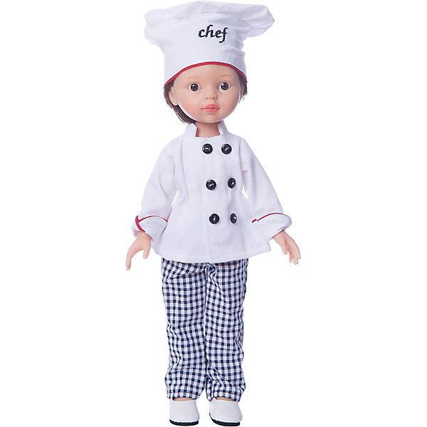 купить Paola Reina Кукла Paola Reina Карлос повар, 32 см дешево