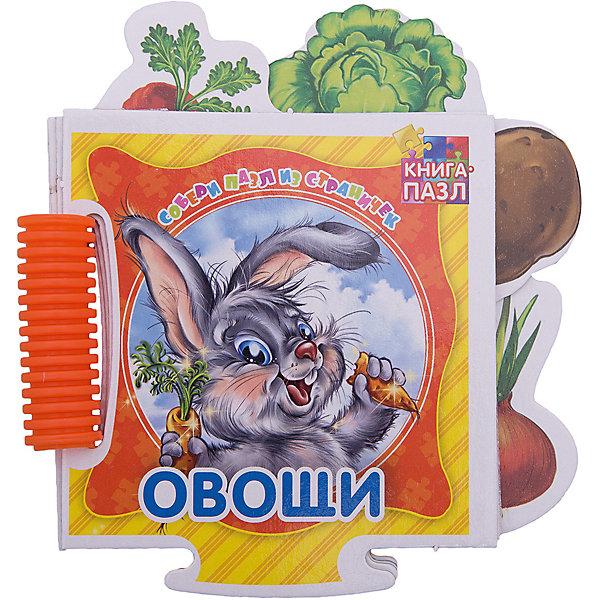 ND Play Книга-пазл Овощи