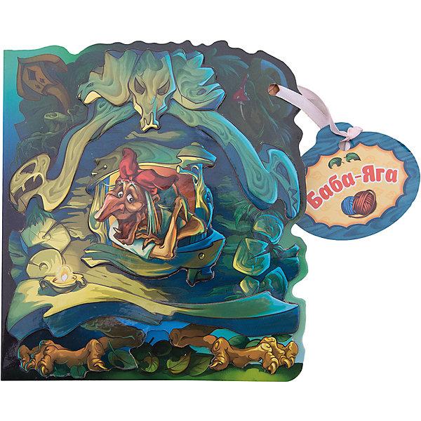 Книжка с вырубкой Домики с историями Баба-ЯгаПервые книги малыша<br>Характеристики:<br><br>• возраст: от 3 лет;<br>• материал: бумага;<br>• ISBN: 9785906865199;<br>• количество страниц: 12;<br>• иллюстрации: цветные;<br>• вес: 130 гр;<br>• размер: 14,5х0,7х16,6 см;<br>• бренд: ND PLAY.<br><br>Книга «Домики с историями. Баба-Яга»  кажется игрушкой, ведь она выглядит как настоящий домик героев. Объемная аппликация придает книжке более привлекательный вид.Читая любимые сказки, Вы с малышом проведете множество приятных минут.<br><br>Книгу «Домики с историями. Баба-Яга» можно купить в нашем интернет-магазине.<br>Ширина мм: 145; Глубина мм: 7; Высота мм: 166; Вес г: 130; Возраст от месяцев: 36; Возраст до месяцев: 6; Пол: Унисекс; Возраст: Детский; SKU: 7965514;