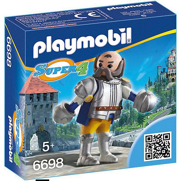 PLAYMOBIL® Конструктор Playmobil Супер 4 Королевский страж Сэра Ульфа playmobil супер 4 инопланетный воин с т рекс ловушкой 9006