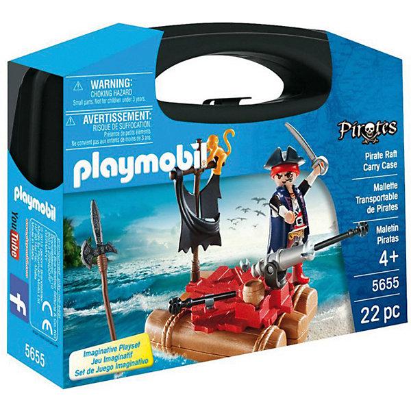 PLAYMOBIL® Конструктор Playmobil Возьми с собой Пиратский плот playmobil игровой набор возьми с собой пиратский плот