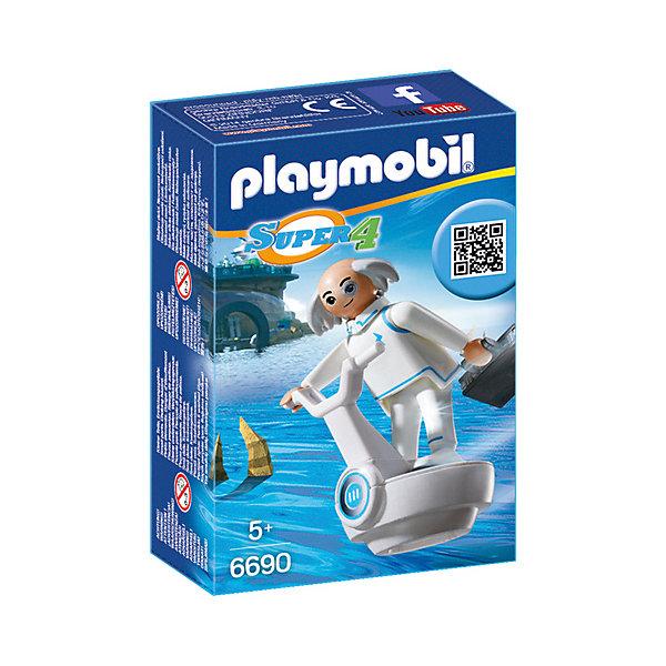 PLAYMOBIL® Конструктор Playmobil Супер 4 Доктор Икс playmobil супер 4 инопланетный воин с т рекс ловушкой 9006