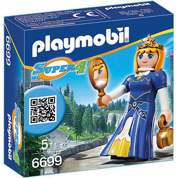 PLAYMOBIL® Конструктор Playmobil Супер 4 Принцесса Леонора playmobil супер 4 инопланетный воин с т рекс ловушкой 9006