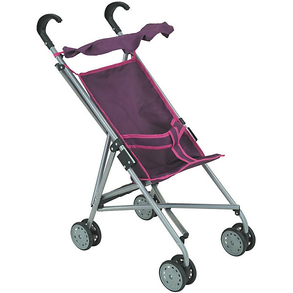 Фотография товара коляска-трость для кукол Buggy Boom , розовый с цветами (7969319)