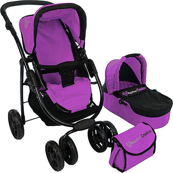 Коляска - трансформер Buggy Boom , розовый с мишкамиТранспорт и коляски для кукол<br>Характеристики товара:<br><br>• возраст: от 3 лет;<br>• материал: полиэстер, пластик, металл;<br>• в комплекте: коляска, люлька;<br>• размер коляски: 60х44х75 см;<br>• диаметр колес: 15 см;<br>• размер упаковки: 54х34х18 см;<br>• вес упаковки: 3,8 кг.<br><br>Коляска-трансформер 2 в 1 для кукол Buggy Boom Amidea розовая с мишками — коляска для любимой куколки девочки, в комплекте к которой идет люлька с ручками. Люльку можно снять и использовать прогулочную коляску.<br><br>На сидении ремешки, при помощи которых куклу можно пристегнуть. Сидение выполнено из полиэстера, который легко моется по мере загрязнения. Ручка для управления регулируется по высоте под рост девочки. Передние сдвоенные колеса вращаются вокруг своей оси.<br><br>Под сидением расположена текстильная корзинка для перевозки вещей. Небольшой вес коляски позволяет без труда управлять ей, выносить самостоятельно на прогулку и переносить. Рама выполнена из облегченного металла и устойчива к повреждениям.<br><br>Коляска подойдет для кукол до 40 см.<br><br>Коляску-трансформер 2 в 1 для кукол Buggy Boom Amidea розовую с мишками можно приобрести в нашем интернет-магазине.<br>Ширина мм: 540; Глубина мм: 180; Высота мм: 340; Вес г: 3800; Цвет: розовый; Возраст от месяцев: 36; Возраст до месяцев: 60; Пол: Женский; Возраст: Детский; SKU: 7969344;