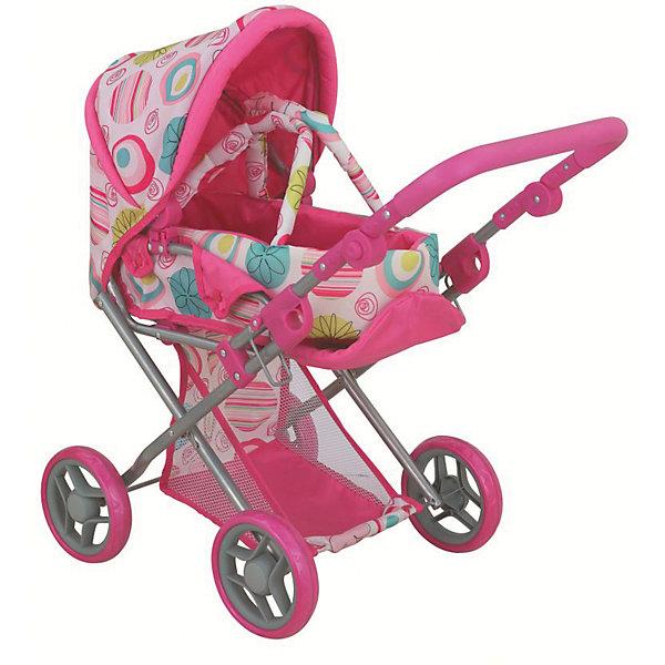 Фотография товара коляска - трансформер Buggy Boom , светло-розовый с кольцами (7969398)