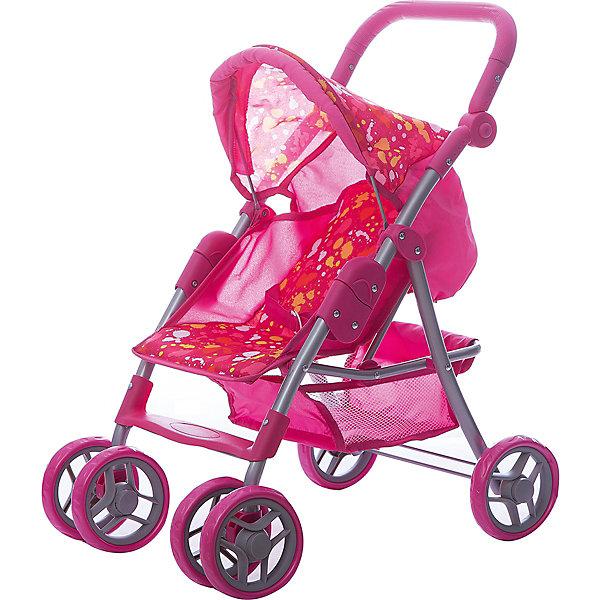 Фотография товара коляска - трансформер Buggy Boom , розовый с разноцветными пятнами (7969416)
