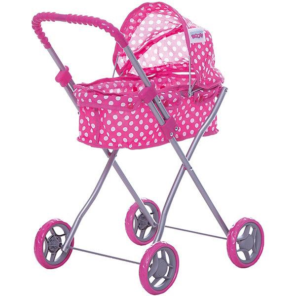 купить Buggy Boom Коляска для кукол Buggy Boom , розовая недорого