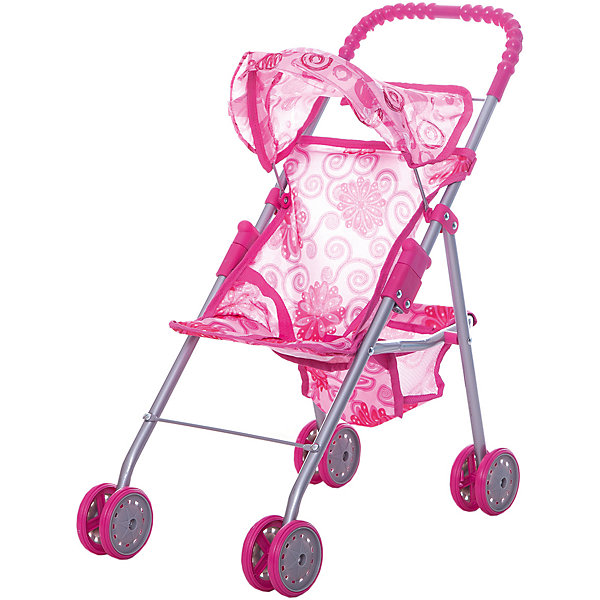 Коляска для кукол с козырьком Buggy Boom , розовый с цветамиТранспорт и коляски для кукол<br>Характеристики товара:<br><br>• возраст: от 2 лет;<br>• материал: полиэстер, пластик, металл;<br>• размер коляски: 46х27х51 см;<br>• диаметр колес: 8 см;<br>• размер упаковки: 49х26х8 см;<br>• вес упаковки: 840 гр.<br><br>Коляска для кукол Buggy Boom Mixy розовая с цветами — легкая коляска для любимой куколки девочки, которая разнообразит игровой процесс. Коляска оснащена удобной ручкой для управления и сдвоенными колесами, отличающимися хорошей устойчивостью. Небольшой вес коляски позволяет без труда управлять ей, выносить самостоятельно на прогулку и переносить. Рама выполнена из облегченного металла и устойчива к повреждениям.<br><br>В сидении куклу можно пристегнуть ремешками безопасности. Сидение выполнено из полиэстера, который легко моется по мере загрязнения. На сидении небольшой складной козырек. За сидением расположена корзинка для вещей и мелочей. Коляска оснащена системой от случайного складывания, она складывается для хранения дома и переноски. Коляска подойдет для кукол до 35 см.<br> <br>Коляску для кукол Buggy Boom Mixy розовую с цветами можно приобрести в нашем интернет-магазине.<br>Ширина мм: 490; Глубина мм: 260; Высота мм: 80; Вес г: 840; Цвет: розовый; Возраст от месяцев: 24; Возраст до месяцев: 36; Пол: Женский; Возраст: Детский; SKU: 7969458;