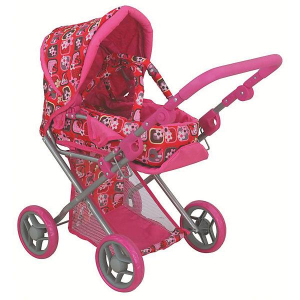 Фотография товара коляска - трансформер Buggy Boom , розовый с цветочным рисунком (7969462)