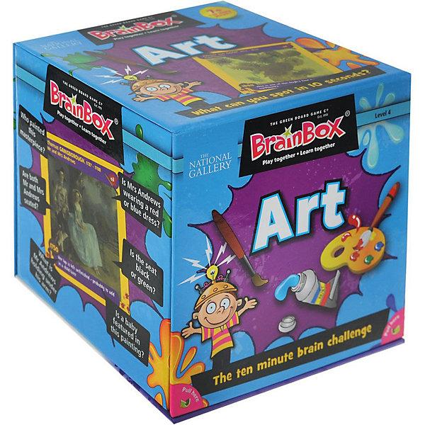 Сундучок знаний Настольная игра BrainBox Сундучок знаний: Искусство сундучок знаний настольная игра сундучок знаний космос brainbox
