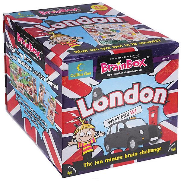 Настольная игра BrainBox Сундучок знаний: ЛондонОбучающие игры для дошкольников<br>Характеристики товара:<br><br>• возраст: от 8 лет;<br>• в комплекте: 58 карточек, песочные часы, кубик, инструкция на английском языке;<br>• материал: картон;<br>• размер упаковки: 12х12х12 см;<br>• вес упаковки: 580 гр.;<br>• страна бренда: Великобритания.<br><br>Настольная игра BrainBox Сундучок знаний: Лондон расскажет про один из самых интересных и узнаваемых городов мира, почувствуйте атмосферу туманной английской столицы.<br><br>Оригинальный «тренажер» иностранного языка для юного исследователя. Выучить один из самых востребованных языков теперь не составит труда, достаточно изучить внимательно тематические рисунки на карточках, чтобы потом ответить на каверзные вопросы. В процессе игры будущий владелец сможет узнать новые слова и закрепить давно знакомые выражения. <br><br>Настольная игра BrainBox Сундучок знаний: Лондон можно купить в нашем интернет-магазине.