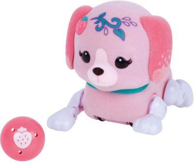 Интерактивный щенок Moose  Little Live Pets  Клубничка с мячиком, артикул:7979640 - Интерактивные игрушки