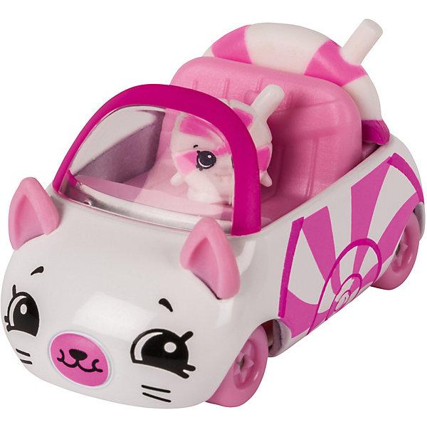 Игровой набор Moose Cutie Car Машинка с мини-фигуркой Shopkins, Lillipop Soft TopКоллекционные фигурки<br>Характеристики:<br><br>• возраст: от 5 лет;<br>• материал: пластик;<br>• в наборе: 1 машинка Cutie Car, фигурка водителя мини-Shopkins, брошюра коллекционера;<br>• вес упаковки: 90 гр.;<br>• размер упаковки: 16х4,5х10,5 см;<br>• страна бренда: Австралия.<br><br>Набор из коллекции Shopkins Cutie Car от бренда Moose создан специально для девочек. Серия включает миловидные машинки в виде забавных животных, фруктов и десертов. К ним прилагаются соответствующие по дизайну фигурки Shopkins.<br><br>В этой линейке представлены кабриолеты, багги и внедорожники с откидной крышей, а также фургончики со сладостями. Собрав всю коллекцию, ребенок сможет устраивать заезды, придумывать сюжетные игры. Колеса игрушки подвижны. Выполнено из качественных безопасных материалов.<br><br>Машинку Cutie Car с мини-фигуркой Shopkins S1 в блистере в асс. можно купить в нашем интернет-магазине.<br>Ширина мм: 160; Глубина мм: 45; Высота мм: 105; Вес г: 90; Цвет: розовый; Возраст от месяцев: 60; Возраст до месяцев: 2147483647; Пол: Женский; Возраст: Детский; SKU: 7979698;