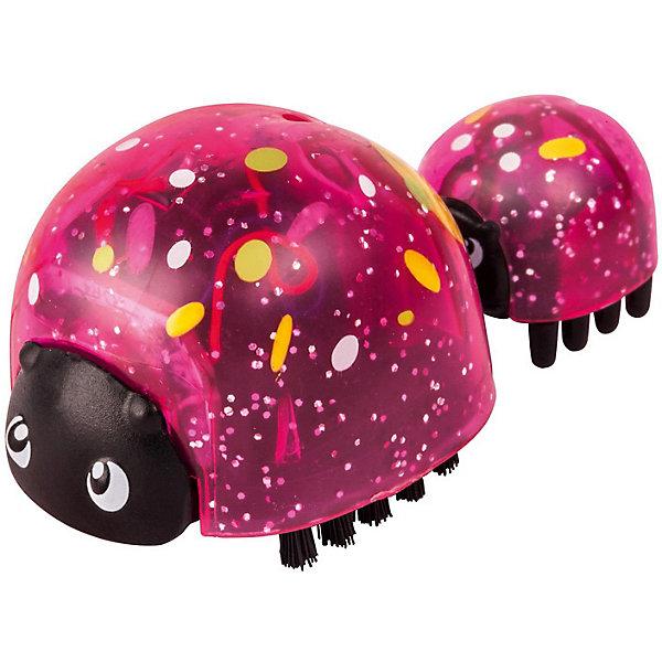 Интерактивная игрушка Moose Little Live Pets Божья коровка и малыш, ИскоркаИнтерактивные животные<br>Характеристики:<br><br>• возраст: от 5 лет;<br>• материал: пластик;<br>• в наборе: 2 фигурки божьих коровок;<br>• тип батареек: 1хLR44;<br>• наличие батареек: в комплекте;<br>• вес упаковки: 140 гр.;<br>• размер упаковки: 12,5х4,5х22 см;<br>• страна бренда: Австралия.<br><br>Набор Little Live Pets от бренда Moose стандартно включает двух божьих коровок (мама и малыш). В некоторых наборах можно найти бонусную фигурку малыша. Узнать заранее комплектность невозможно.<br><br>Жучки имеют яркий оригинальный дизайн, соединяются между собой с помощью антенны. При включении игрушка начинает кружиться и ползать по гладкой поверхности. Выполнено из прочных безопасных материалов, устойчивых к механическому воздействию.<br><br>Набор божья коровка и малыш Moose «Искорка» можно купить в нашем интернет-магазине.<br>Ширина мм: 125; Глубина мм: 45; Высота мм: 220; Вес г: 140; Цвет: розовый; Возраст от месяцев: 60; Возраст до месяцев: 2147483647; Пол: Унисекс; Возраст: Детский; SKU: 7979727;