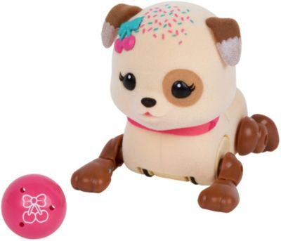 Интерактивный щенок Moose  Little Live Pets  Вишенка с мячиком, артикул:7979738 - Интерактивные игрушки