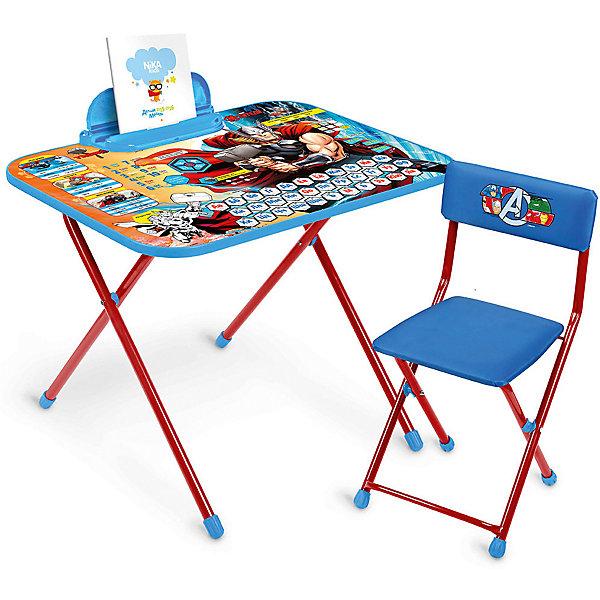 Ника Комплект мебели Nika Kids Marvel Мстители стул походный складной nika пс сиденье 300х300мм цвет джинс
