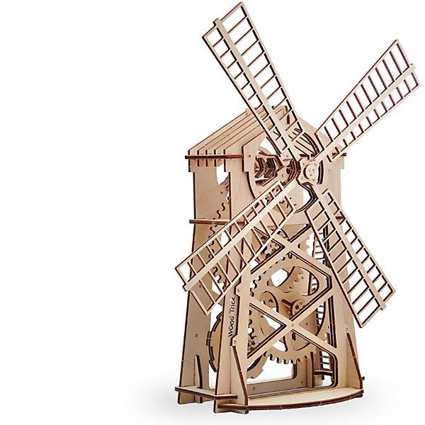 Сборная модель  Wood Trick МельницаДеревянные модели<br>Характеристики:<br><br>• возраст: от 7 лет;<br>• материал: дерево;<br>• количество деталей: 76;<br>• вес упаковки: 800 гр.;<br>• размер упаковки: 37х18х3 см;<br>• страна производитель: Украина.<br><br>Сборная модель  Wood Trick Мельница не оставит никого равнодушным. <br>Она состоит из 76 деталей, с его сборкой легко справится как взрослый, так и ребенок, тем более, что к набору прилагается простая и понятная инструкция. Внимательно ознакомьтесь с инструкцией по сборке, и вы сможете легко собрать собственную модель мельницы!<br><br>Изделие выполнено из гладкой березовой фанеры, не имеющей заусенцев, поэтому удобно для покраски и безопасно для сборки.<br><br>Сборная модель  Wood Trick Мельница  можно купить в нашем интернет-магазине.