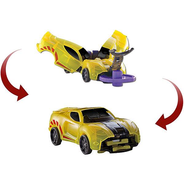 Машинка-трансформер Дикие Скричеры Спаркбаг л1Трансформеры-игрушки<br>Характеристики:<br><br>• возраст: от 3 лет;<br>• материал: пластик;<br>• цвет: желтый;<br>• вес: 140 гр;<br>• размер: 20,5х4,8х16 см;<br>• страна бренда: Китай;<br>• бренд: Screechers Wild.<br><br>Машинка-трансформер Screechers Wild  «Спаркбаг л1» - единственная в своем роде игрушка. Она превращается в зверя, переворачиваясь в воздухе на 360! Машинка разгоняется, ловит специальный диск, делает кувырок и самостоятельно трансформируется прямо в воздухе. Обратно в машинку игрушка собирается вручную. Несколько движений - и она опять готова к новому кувырку.<br><br>Машинка-трансформер обладает прочной конструкцией с надежными креплениями и выполнена из высококачественного материала. В набор входит машинка-трансформер (8х4х3 см) и 2 магнитных диска диаметром 3 см. <br><br>Всего в линейке Скричеров представлено 16 машинок, каждая из которых является отдельным персонажем. Машинки могут превращаться в животных, птиц, динозавров или рептилий. Самое время собрать всю команду Скричеров!<br><br><br>Машинку-трансформер Screechers Wild  «Спаркбаг л1» можно купить в нашем интернет-магазине.<br>Ширина мм: 205; Глубина мм: 160; Высота мм: 48; Вес г: 140; Возраст от месяцев: 36; Возраст до месяцев: 120; Пол: Мужской; Возраст: Детский; SKU: 7981303;