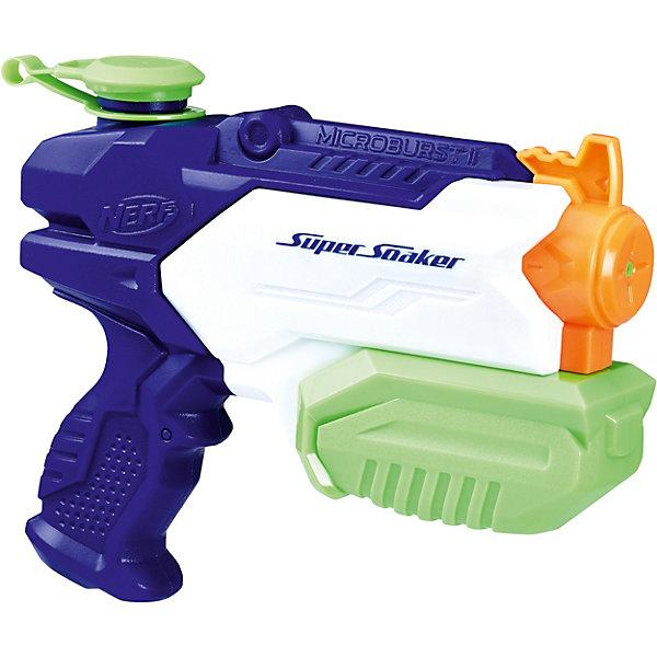 цена на Hasbro Водяной бластер Nerf Super Soaker Mikroburst 2