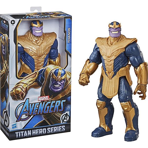 Купить Игровая фигурка Marvel Avengers Titan Hero Series Танос, 30, 4 см, Hasbro, Китай, Мужской