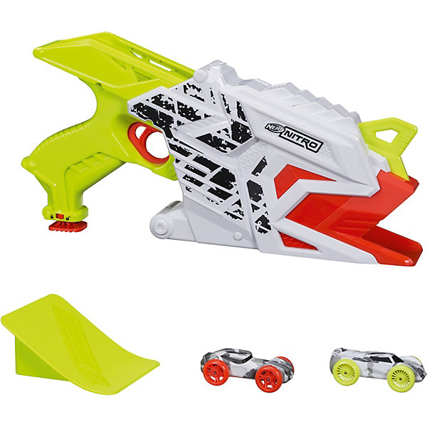 Hasbro Бластер Nerf Нитро Аэрофьюри игрушка hasbro nerf нитро трамплин e0856