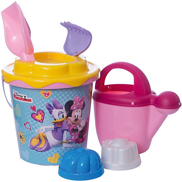 Polesie Набор игрушек для песочницы Полесье Disney Минни» № 12, 7 предметов polesie набор игрушек для песочницы полесье холодное сердце 14 7 предметов