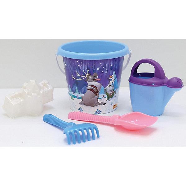 Polesie Набор игрушек для песочницы Полесье Холодное сердце» № 13, 5 предметов полесье набор игрушек для песочницы 467 цвет в ассортименте
