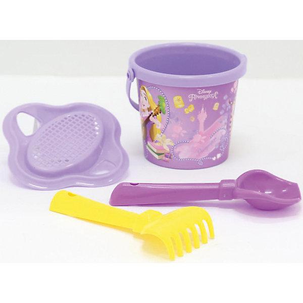 Фото - Полесье Набор игрушек для песочницы Полесье Принцессы Disney» № 2, 4 предмета полесье набор игрушек для песочницы 468 цвет в ассортименте