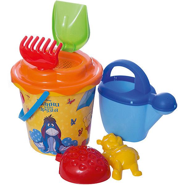 Polesie Набор игрушек для песочницы Полесье Disney Винни и его друзья» № 12, 7 предметов hemar набор для песочницы 7 предметов п 0123