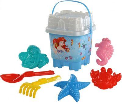 Набор игрушек для песочницы Полесье  Disney Русалочка  № 9, 8 предметов, артикул:7992073 - Принцессы Дисней