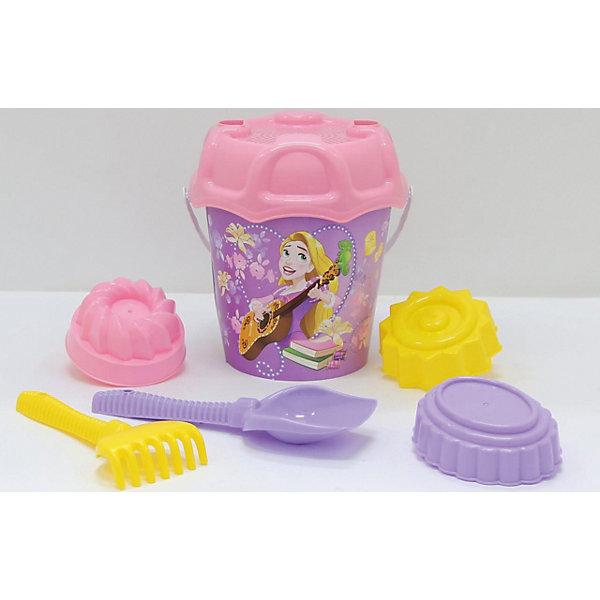 Polesie Набор игрушек для песочницы Полесье Принцессы Disney» № 14, 7 предметов polesie набор игрушек для песочницы полесье холодное сердце 14 7 предметов