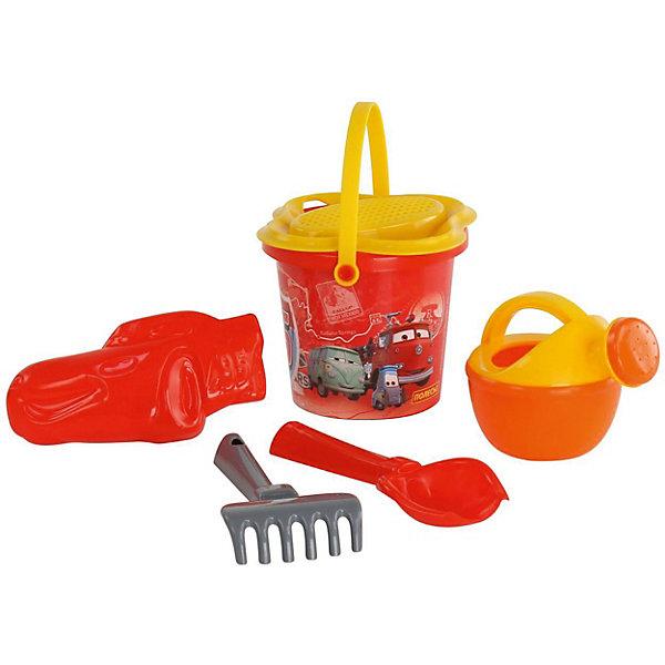 Полесье Набор игрушек для песочницы Полесье Disney Pixar Тачки» № 4, 6 предметов полесье набор игрушек для песочницы полесье marvel человек паук 11 4 предмета