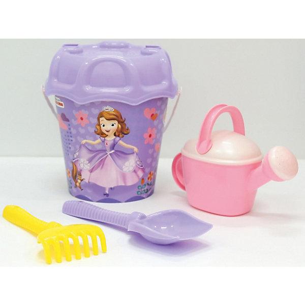 Polesie Набор игрушек для песочницы Полесье Disney София Прекрасная № 3, 5 предметов