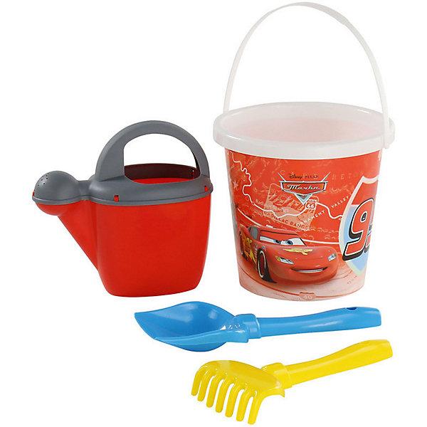 Polesie Набор игрушек для песочницы Полесье Disney Pixar Тачки» № 17, 4 предмета disney набор посуды тачки 3 3 предмета