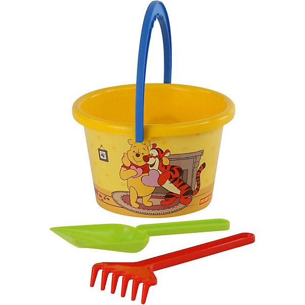 Polesie Набор игрушек для песочницы Полесье Disney Винни и его друзья» № 5, 3 предмета карамба закладки ключ цвет розовый 8 шт