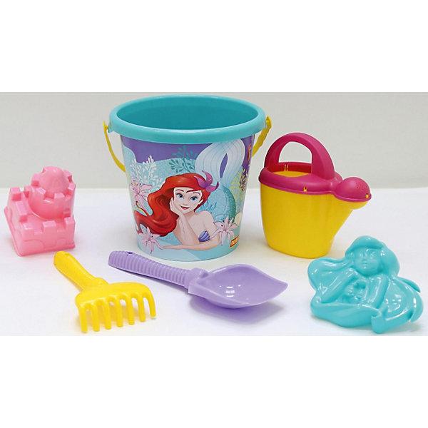 Polesie Набор игрушек для песочницы Полесье Disney Русалочка № 5, 6 предметов