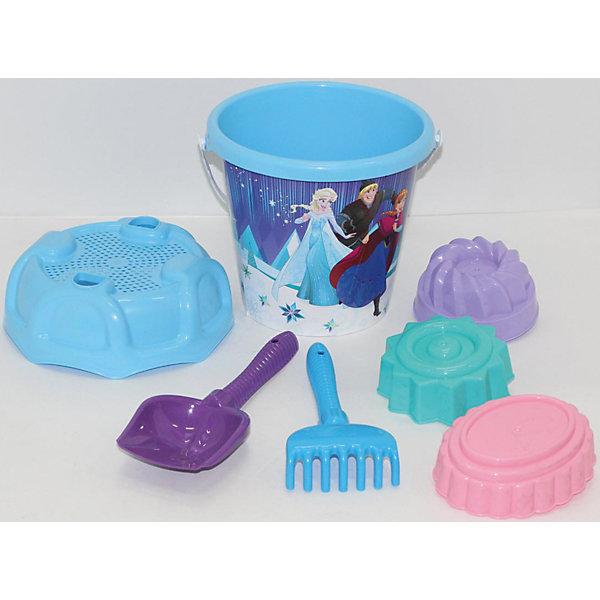 Polesie Набор игрушек для песочницы Полесье Холодное сердце» № 14, 7 предметов