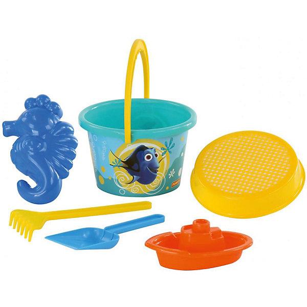 Фото - Полесье Набор игрушек для песочницы Полесье Disney Pixar В поисках Немо» № 7, 6 предметов полесье набор игрушек для песочницы 468 цвет в ассортименте