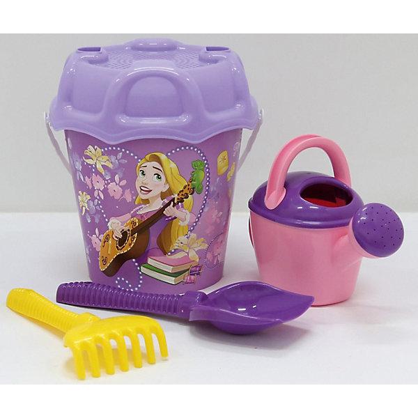 Polesie Набор игрушек для песочницы Полесье Принцессы Disney» № 15, 5 предметов polesie набор игрушек для песочницы полесье холодное сердце 14 7 предметов