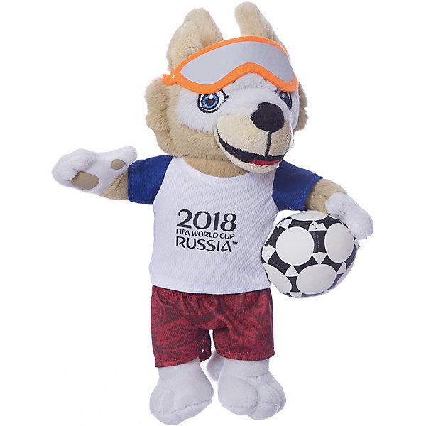 цена на 1Toy Мягкая игрушка FIFA-2018 1Toy Волк Забивака, 28 см