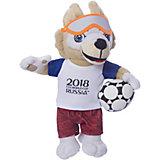 Мягкая игрушка FIFA-2018 1Toy Волк Забивака
