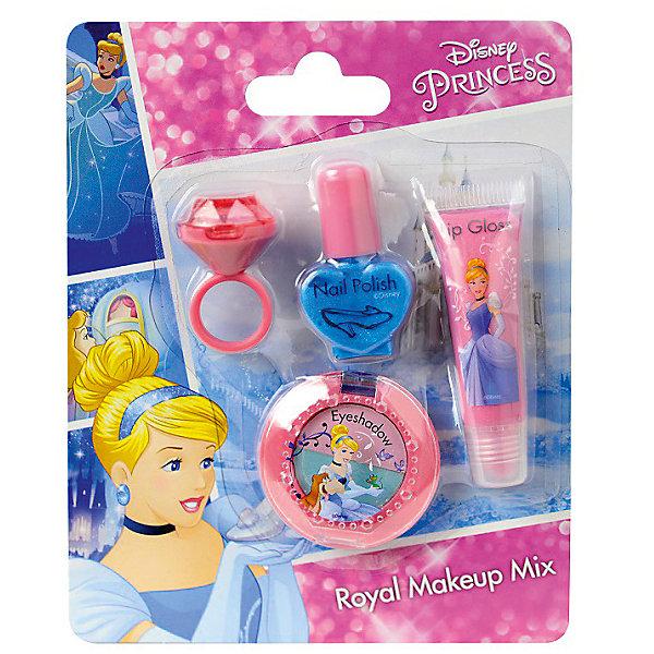 Детская декоративная косметика Markwins Disney Princess Золушка, для лица и ногтейПринцессы Дисней<br>Характеристики:<br><br>• возраст: 6+;<br>• пол: для девочек;<br>• цвет: розовый, фиолетовый;<br>• габариты упаковки: 13х3х16 см;<br>• вес: 76 г.<br><br>Маленький набор детской косметики – лучший подарок для маленьких модниц, ведь каждая малышка хочет быть похожа на маму и научиться краситься. <br><br>Упаковку украшает изображение Золушки – главной героини одноименного мультфильма.<br><br>В набор входят:<br><br>• блеск для губ в колечке - 1 шт.;<br>• лак для ногтей на водной основе - 1 шт.;<br>• блеск для губ в тубе - 1 шт.;<br>• двойные тени для век - 1 шт.<br><br>Лаки изготовлены на водной основе, поэтому не вредят ногтевой пластине и не сушат ее.<br><br>Косметика отвечает всем европейским стандартам качества: не содержит парабенов, метилизотиазолинона и пальмового масла, не вредит коже и не тестируется на животных.<br><br>Детскую декоративную косметику «Золушка», «Disney Princess» (для лица и ногтей), Markwins можно приобрести в нашем интернет-магазине.<br>Ширина мм: 130; Глубина мм: 30; Высота мм: 160; Вес г: 74; Возраст от месяцев: 72; Возраст до месяцев: 2147483647; Пол: Женский; Возраст: Детский; SKU: 7992892;