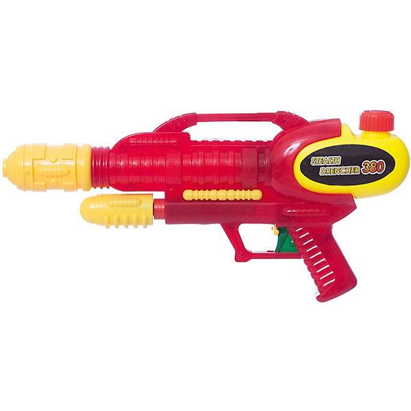 Водяное оружие 380, 4HomeВодяные пистолеты<br>Характеристики:<br><br>• возраст: от 3 лет;<br>• материал: пластик;<br>• объем воды: 425 мл.;<br>• цвет: красный, зеленый, синий;<br>• дальность стрельбы: 9 м;<br>• вес: 260 гр;<br>• размер: 30х6х15 см;<br>• бренд: 4Home.<br><br>Водяное оружие 380, 4Home будет хорошим развлечением для детей в жаркую погоду. Его можно взять с собой на отдых или затеять сражение непосредственно во дворе, главное, заправить оружие водой и можно веселиться. В качестве патронов в бластере используется обычная вода, поэтому не стоит беспокоиться, где добыть боеприпасы, чтобы продолжить развлекаться с друзьями.<br>Игрушка подарит незабываемую атмосферу и принесет детям радость. Разделитесь на две команды, используйте продуманную стратегию и получите долгожданную победу. Бластер подойдет и для взрослых, которые в солнечную погоду решили не сидеть в квартире или доме. Игрушка полностью безопасна, выполнена из высококачественного материала, имеет прочную конструкцию.<br>ВНИМАНИЕ! Данный артикул имеется в наличии в разных вариантах исполнения. Заранее выбрать определенный вариант нельзя. При заказе нескольких водяных оружий возможно получение одинаковых.<br>Водяное оружие 380, 4Home можно купить в нашем интернет-магазине.