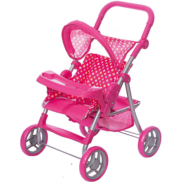 Коляска-трансформер для кукол   Buggy Boom cерия Скайна (Skyna), розовая в горошекТранспорт и коляски для кукол<br>Характеристики:<br><br>• возраст: от 3 лет;<br>• материал: металл, пластик, текстиль;<br>• цвет: розовый;<br>• принт: горошек;<br>• размер: 53х14х33 см;<br>• вес: 2,68 кг;<br>• страна бренда: Россия;<br>• бренд: Багги Бум.<br><br>Коляска-трансформер для кукол Buggy Boom – стильная,  функциональная, с возможностью многочисленных регулировок и оригинальной конструкцией, непременно понравится вашей девочке. <br><br>Благодаря множеству функций, таких как: люлька переноска, сетчатая корзина, система безопасности для ребенка от случайного складывания, ремень безопасности, столик для кормления куклы, регулируемая ручка, складной капюшон - игра с коляской становится разнообразной и увлекательной. <br><br>Коляска выполнена из качественных и безопасных для ребенка материалов, каркас произведен из облегченного металла и делает конструкцию прочной и устойчивой к повреждениям, колеса изготовлены из высококачественного полимера и пластмассы, а в качестве ткани использован полиэстер, который легко мыть. <br><br>Коляска легко собирается и не занимает много места, её можно использовать в зимнее и летнее время. Поставляется в фирменной красочной коробке с ручкой.<br><br>Коляску-трансформер для кукол Buggy Boom  можно купить в нашем интернет-магазине.<br>Ширина мм: 53; Глубина мм: 14; Высота мм: 33; Вес г: 2680; Цвет: розовый; Возраст от месяцев: 36; Возраст до месяцев: 60; Пол: Женский; Возраст: Детский; SKU: 7994708;